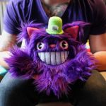 Mini Cheshire Catopus by loveandasandwich