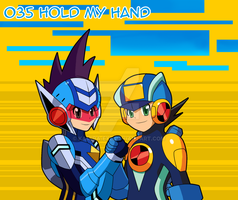 035 - Hold my Hand by Kamira-Exe
