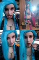 On my way to ConTopia ~ Jinx~ by DaniStormbornCosplay