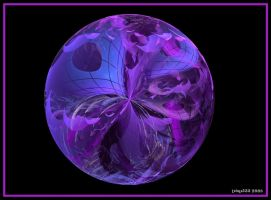 Purple Step Ball by tsims533