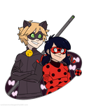 Ladynoir by SummerSnowLeopard