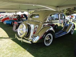 Stainless steel 36 Ford Deluxe by Partywave