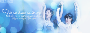 [ EXO Quotes | 1st project ] ChanBaek 6 by Emilybbz