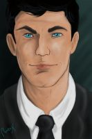Sterling Archer by Phoenix-Cry