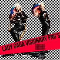Lady Gaga Vissionary PNG'S by HolyHooker