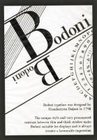 Bodoni by Ihtaver