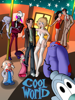 Cool World Poster - Ver. 1 by fokkusu1991