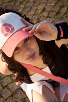 Touko . Pokemon Trainer cosplay by Rael-chan89