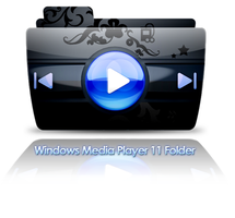 Windows Mediaplayer 11 Folder by xdragon16