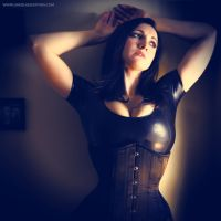 Angelique Kithos - Moody in Latex 1 by kithos