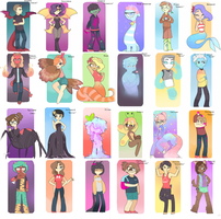 30 Monsters by blue-pizza123