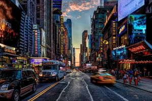 Times Square - VIII by A1k3misT