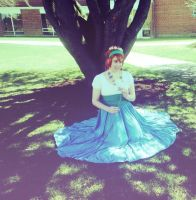 Thumbelina: Sitting in the Sun by Kennadee