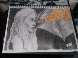 Mother Of Dragons by samrogers