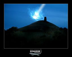 Glastonbury Wormhole by konador