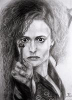 Bellatrix Lestrange by tanjadrawing