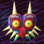 Old Majora's Mask by HylianJean