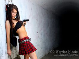 JCE Warrior Nicole Wallpaper by geoectomy