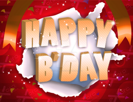 2013 Birthday Card 12 by ExoroDesigns