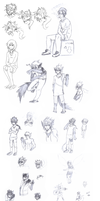 Sketch Dump Againz by iScone