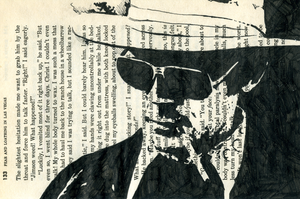 hunter s. thompson, pg. 133 by beaulivres