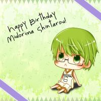 Happy Birthday Midorima! by Pikachu16