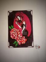 Deadly Beautiful Rose by IridescentArt1996