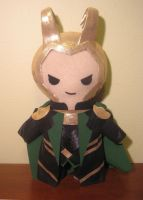 the avengers: LOKI, chibi style! by viciouspretty