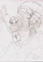 Danken angel sketch by LordMiste