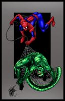 Spidey defeats the Scorpion by statman71