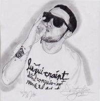Mac Miller by SharpestImages