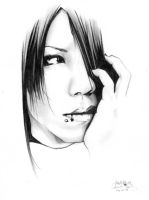 Aoi from Gazette - Completed by LeeJiYeon