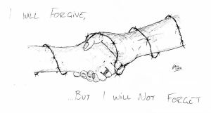 Forgive Not Forget by gjones1