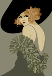 hat lady. by Kaiaa