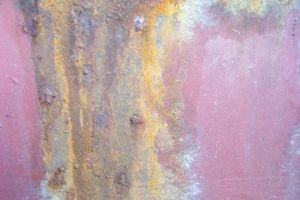 Pink and orange rust stock by paintresseye