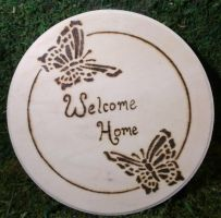 Simple Welcome home by Dark-Crescent-Studio