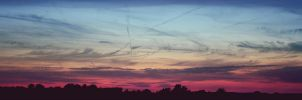 colorful sunset by cloe-patra