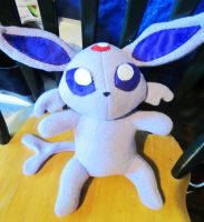 Espeon Plushie Tutorial and Pattern by StitchyGirl