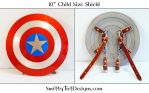 Captain America- Kid's Shield by Smitty-Tut