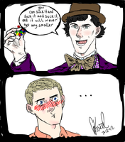 Sherlock and the Chocolate Factory by ExtremlySelfishChild