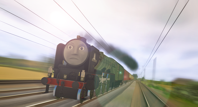 Racing to the North by Nictrain123
