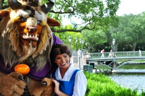 Belle and Beast's Smiles by BellesAngel