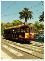 old tram by thespiritcarrieson