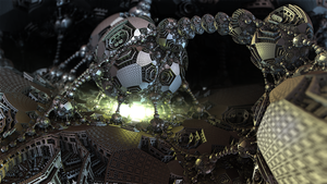 Mining Metallic Menger Monster by Swoopswatkill