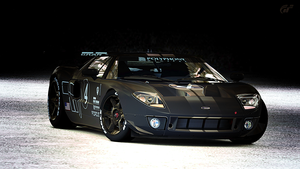 Ford GT Spec ll LM by StrayShadows