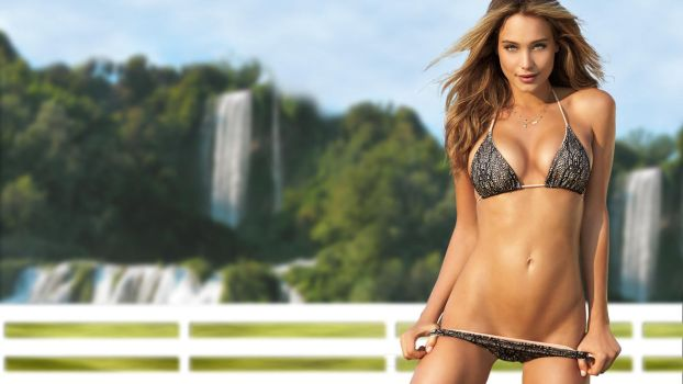 Hannah-davis-swimsuit-wallpaper-1920x1080 by HoustonB