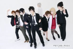 PSYCHO-PASS by ShikiTobari