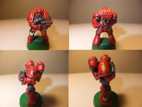 Blood Angel by Adeptussolus