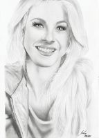 Julianne Hough by LeyuArt