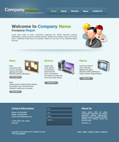 Computer Repair Website by draywin848